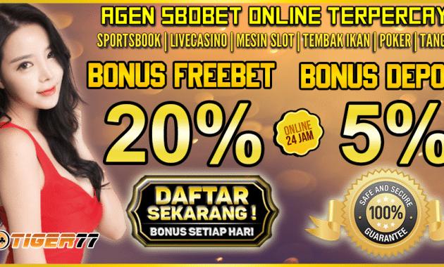 Agen SBOBET Terpercaya Indonesia Judi Bola Online dan Casino