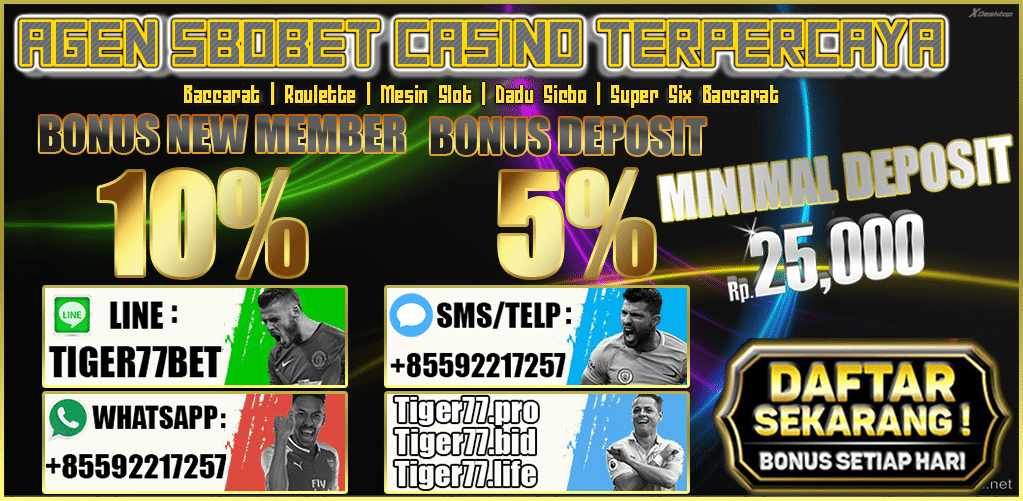 Website Resmi SBOBET Judi Bola dan Casino Online 25rb
