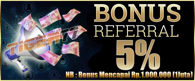 Raih-Bonus-Referensi-5%-Sportsbook,-Casino,-Togel-Online-Setiap-Harinya