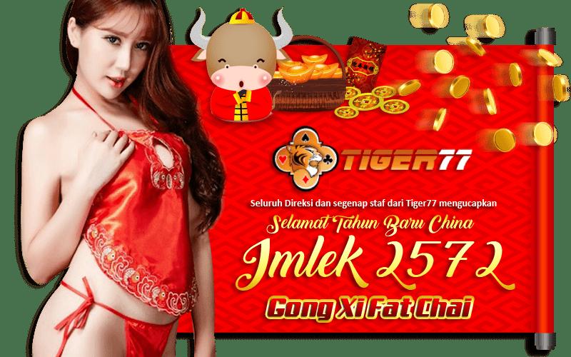 Banner Imlek Tiger77
