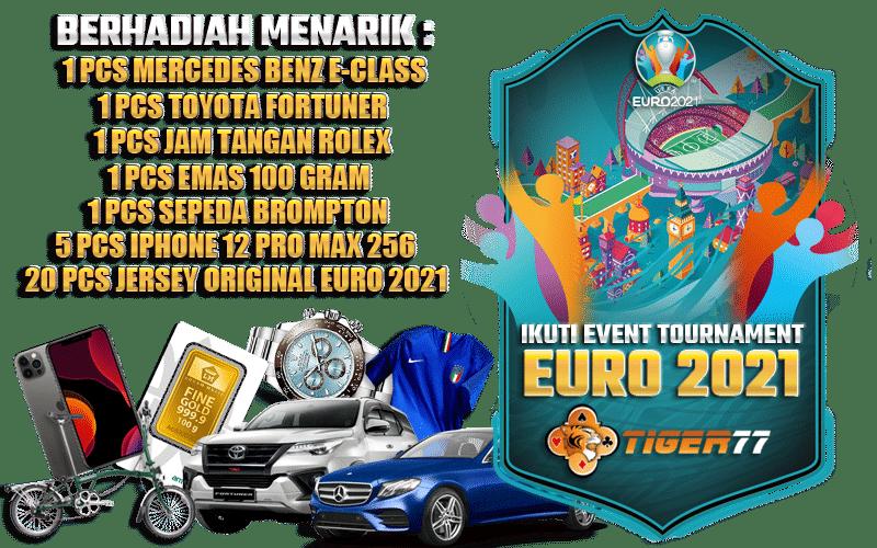 Tiger77 Euro2021 Banner